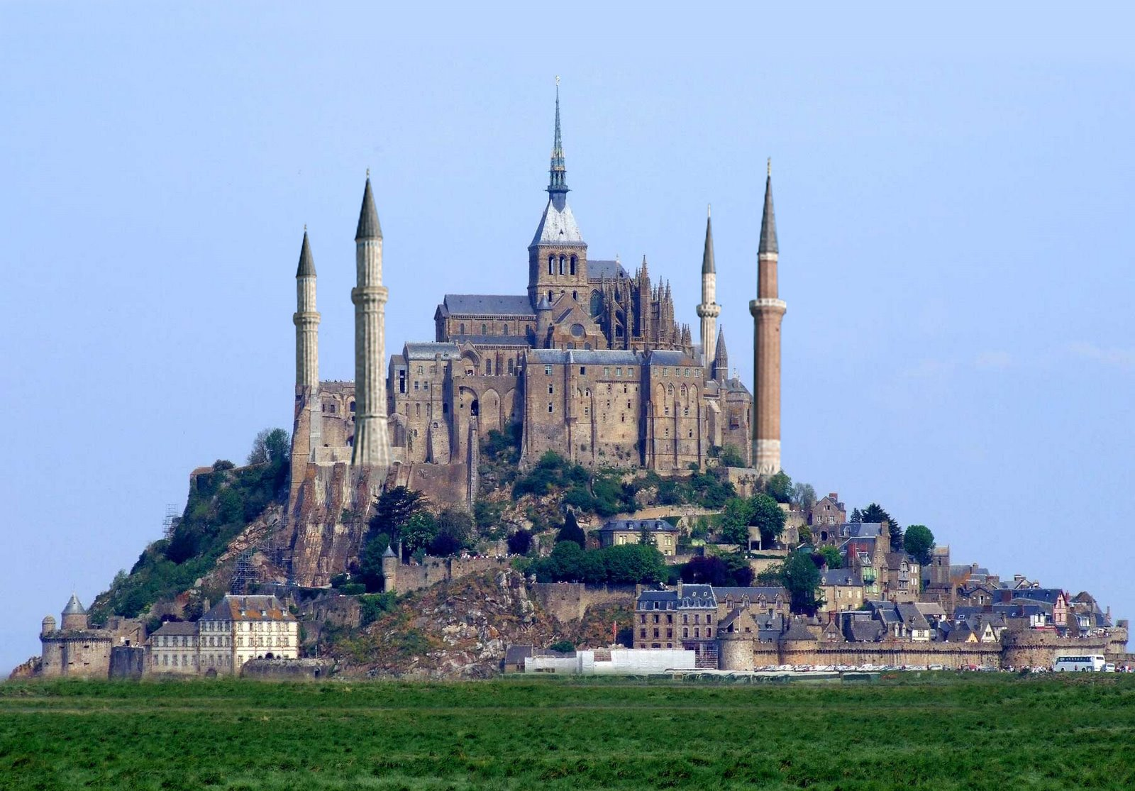 Mont saint michel normandy france for Au jardin st michel pontorson france
