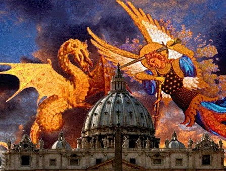 Prions avec le Saint père en ce mois d'octobre (+supplique à la Sainte Vierge et à Saint Michel) 10425881_819028838162753_7507866715653225900_n