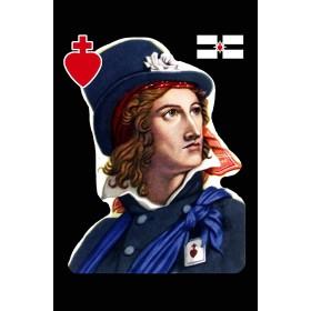 carte-postale-la-rochejaquelein-chouan-sacre-coeur-royaliste-vendeen-monsieur-henri-generalissime