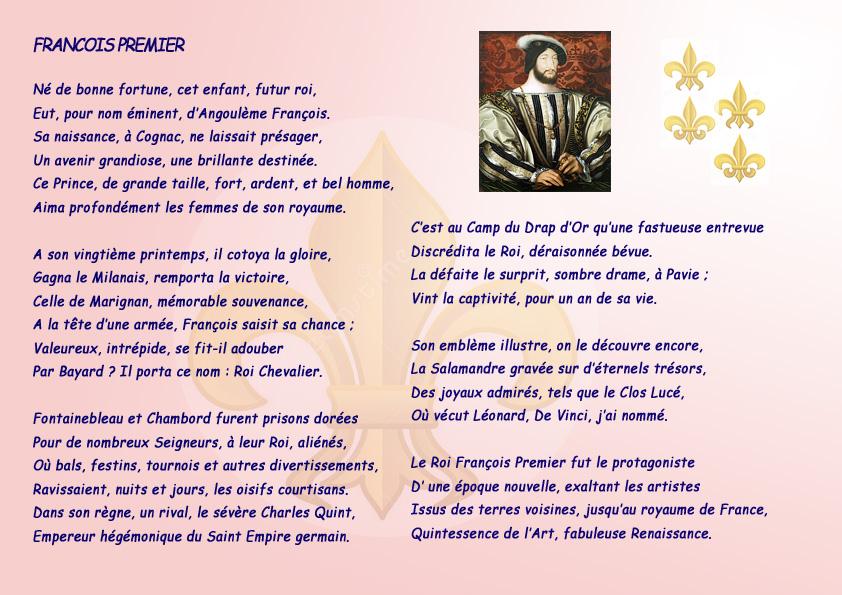 françois premier copy