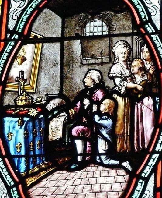 Saints et Saintes du jour - Page 12 Voeu-de-louis-xvi-eglise-du-sacre-coeur-de-douarnenez