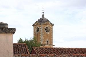 Clocher de l'église de Verrue